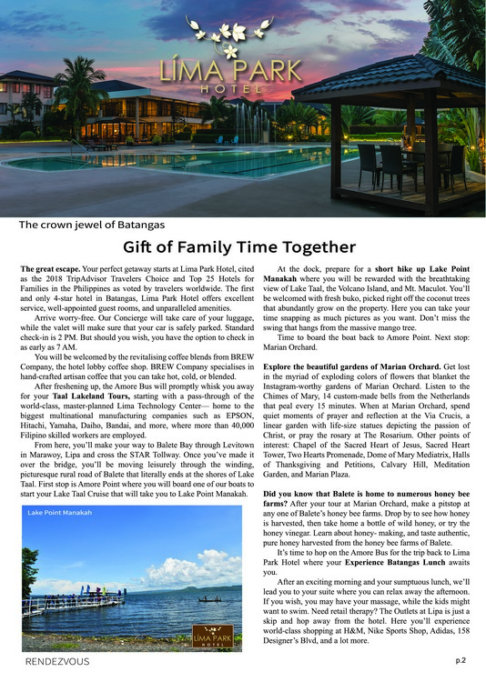 Rendezvous: Gift of Family Time Together